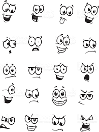Vector Drawings Of Different Expressionsemotions Art Bullet