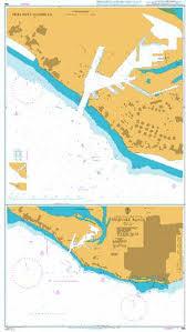British Admiralty Charts Ba Chart 398 Freeport Roads