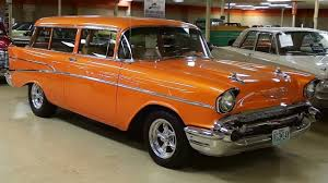 All Chevy 1957 chevy wagon for sale : 1957 Chevrolet Handyman Wagon Hot Rod 400 V8 - YouTube