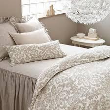 Pine Cone Hill Savannah Linen Chambray Dove Grey Bedspread Ships Free