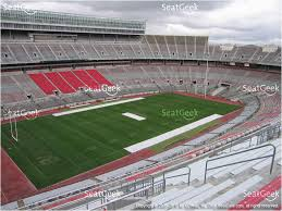Ohio Stadium Seating Chart Ohio Stadium Seating Map Ohio Stadium Section 30 C Seat