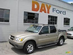 2003 Harvest Gold Metallic Ford Explorer Sport Trac Xlt 4x4