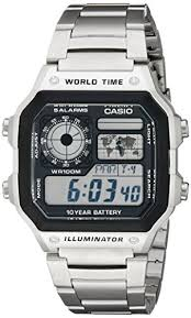 casio men s ae1200whd 1av silver stainless steel quartz watch casio men s ae1200whd 1av silver stainless steel quartz watch digital dial casio amazon co uk watches