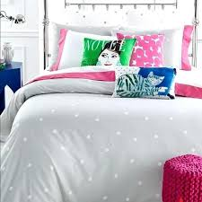 kate spade deco dot comforter queen other polka gray set m kate spade deco dot comforter queen new set