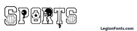 Free Sports Fonts Sports Font Download Free Legionfonts