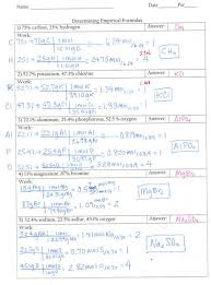 empirical formula worksheet answers free worksheets library 23 ...