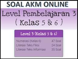 Contoh literasi informasi level pembelajaran 4 ( kelas 8 smp/mts). Contoh Soal Akm Dan Kunci Jawaban Kelas 5 Dan 6 Sd Level 3 Kherysuryawan Id