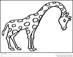 Coloring Pages For Animals Land Animals Coloring Pages Preschool