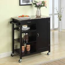 Kitchen Island Cart With Granite Top Kitchen Island Cart Chic Kitchen Island Cart Amazing Decoration