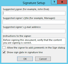 Create A Signature Microsoft Office Documents Digicert Com