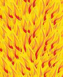 Flame Pattern Beauteous Bright Fire Pattern Body Of Flame Vector Image Vector Artwork Of