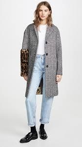 <b>No</b>. <b>21 Пальто</b> с леопардовым принтом на рукавах | SHOPBOP