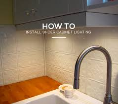kitchen guide how to install under cabinet lighting in 6 simple