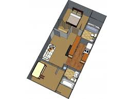 1 Floor Plan 3 | Apartments In Lafayette LA | Maison Bocage Apartments