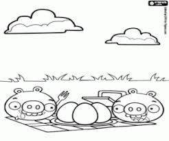 Angry Birds Coloring Pages Printable Games