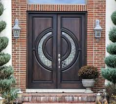 modern double entry doors contemporary exterior with glass front for