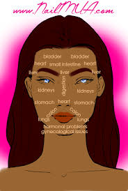 Nailmua Acne Face Chart Nailmua