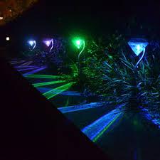 decorative solar lighting. 4pcs/lot Diamond Stainless Steel Solar Lawn Light For Garden Decorative  Solar Power LED Lighting O