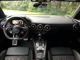 2018 audi tt rs interior. brilliant audi a minimalistic interior can lead to some overly complicated setting  controls and 2018 audi tt rs d