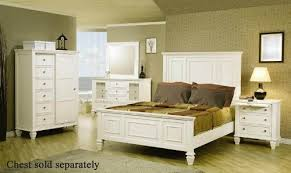 white king bedroom set. Beautiful King Amazoncom 4pc King Size Bedroom Set Cape Cod Style In White Finish  Kitchen U0026 Dining Throughout