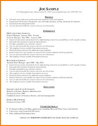 12 Example Of A Resume Template Pennart Appreciation Society
