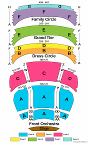 Pac Milwaukee Seating Chart Fox Cities Performing Arts Center Seating Chart