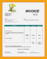 Sample Painting Invoice Template Appealing Word And Painters Free