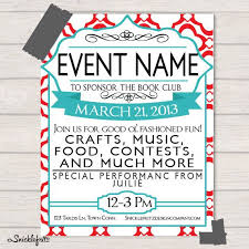 Simple Event Flyers Diy Event Flyers Konmar Mcpgroup Co