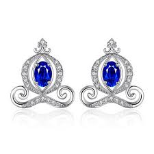 <b>JewelryPalace</b> Pumpkin Carriage Created Sapphire 925 ...