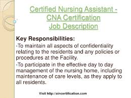 Collection Of Solutions Job Duties Of Cna Easy All About Certified