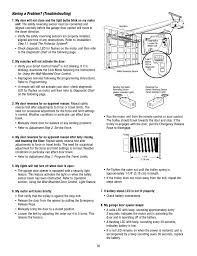 troubleshooting chamberlain whisper drive hd900d user manual page 35 88
