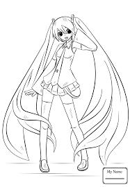 coloring pages for kids anime girls anime manga Anime Slave Angel ...