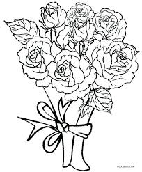 coloring page rose best printable rose coloring pages for kids free regarding roses 6 coloring book