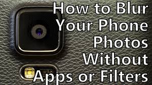 pro tips how to blur the background of your smartphone photos without apps or filters 4k