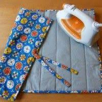 This small quilted ironing pad is a great way to use up some ... & Portable Ironing Pad - Free Patterns & Ideas - Quilter's Connection Magazine Adamdwight.com