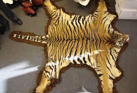dead tiger skin