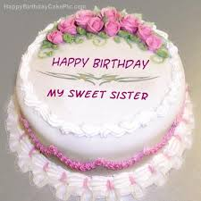 birthday cake for my sweet sister gallery