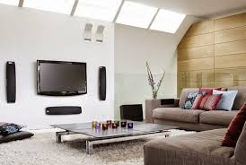 Modren Normal Living Room With Tv Glamorous Img Roomjpg Full