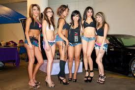 Asian go go girls