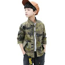 LPATTERN <b>Spring Autumn Kids</b> Boys Jacket Camouflage Windproof ...