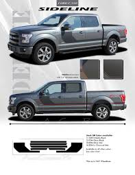 2013 Ford Truck Color Chart 2015 2019 Ford F 150 Stripes Sideline Special Edition