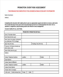 23+ Risk Assessment Form Examples   Free & Premium Templates