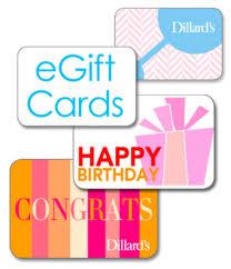 Dillard's eGift Card   Dillard's