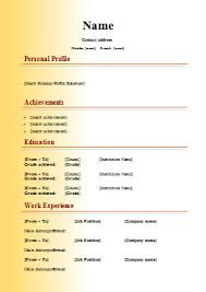 cv sample 18 cv templates cv template word downloads tips cv plaza