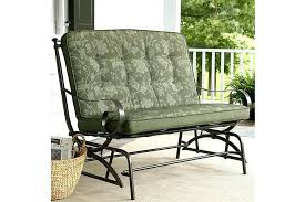 patio glider cushions outdoor double glider cushions cushion the seat porch wicker outdoor glider cushions patio glider cushions