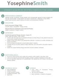 occupational therapy resume. Occupational therapy Resume Beautiful Use This Professional