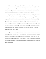 argumentative essay on utilitarianism argumentative essay on utilitarianism