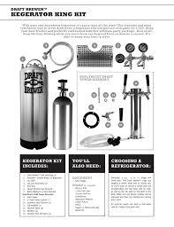 Force Carbonation Chart Time Kegerator King Kit Manualzz Com