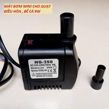 Bơm chìm mini 4W 7W 16W 18W 25W - 220V quạt điều hoà hơi nước - bể cá thủy  cảnh   ĐIỆN MÁY NAM TIẾN