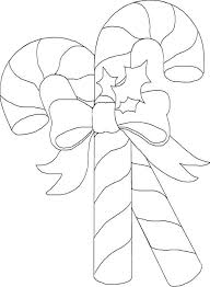 Small Picture Beautiful and Shine Candy Cane Coloring Page Download Print